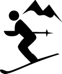 Skiing figure